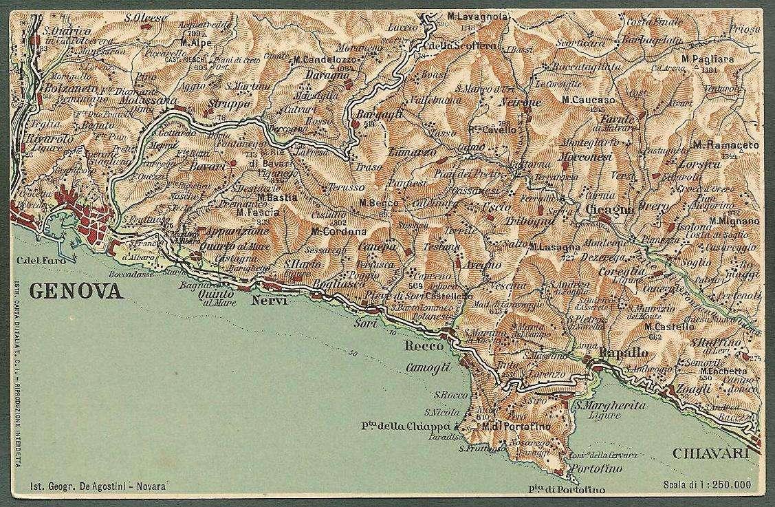 Genova Cartina.Dettagli Su Genova Cartina Geografica