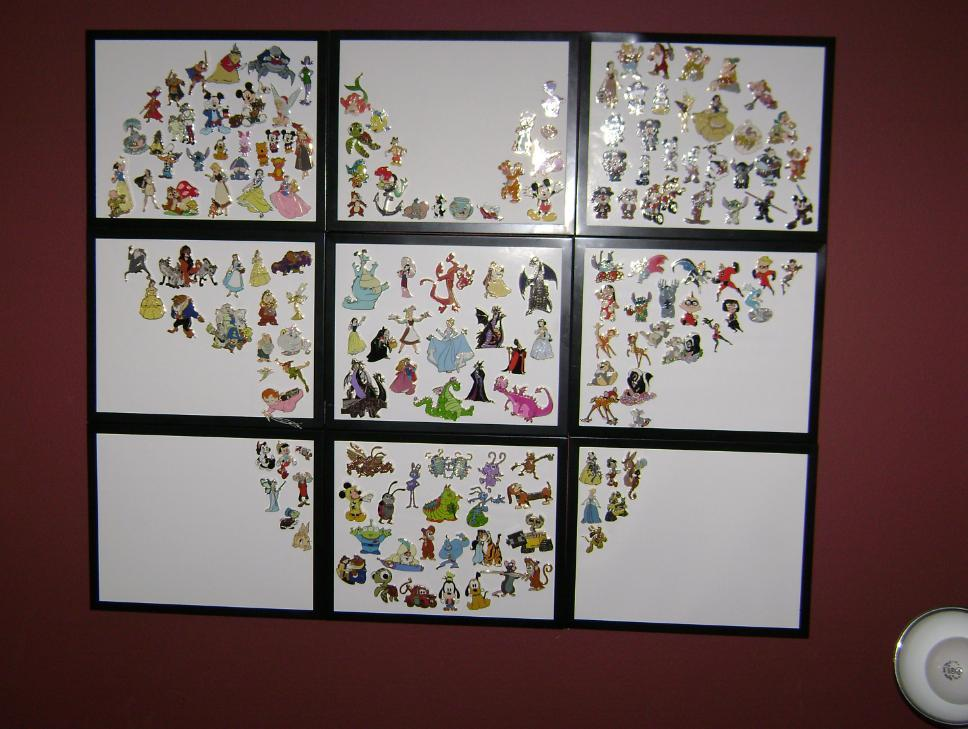 My Disney Mania Framing Disney Pins